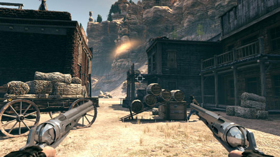 Call of Juarez: Bound in Blood. Benchmark
