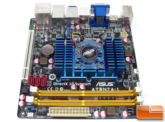 ASUS AT3N7A-I NVIDIA Ion Based Motherboard