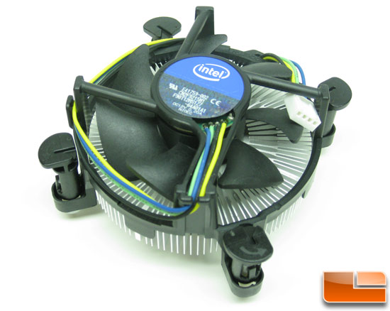 Intel Core i5 750 Retail Boxed CPU Cooler