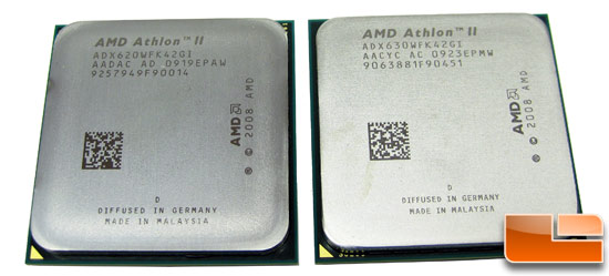 AMD Athlon II X4 620 Athlon II 630 Processor
