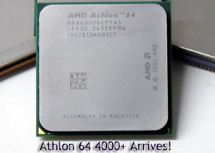AMD's Athlon 64 4000+ Arrives