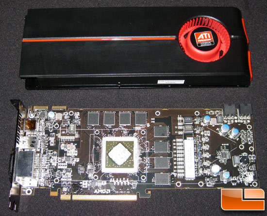 ATI Radeon HD 5870 Video Card Front