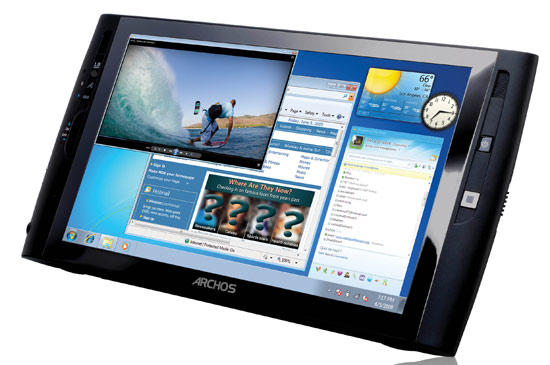 IDF 2009: Hands on with the Archos 9PCtablet