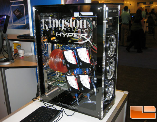 Kingston SSDNow! SSD Drive Demo