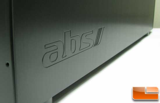 ABS Tigas side panel logo