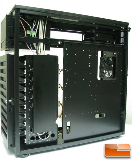 back side of the ABS Tigas motherboard tray