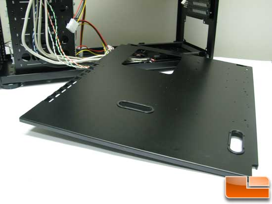 ABS Tigas removable motherboard tray