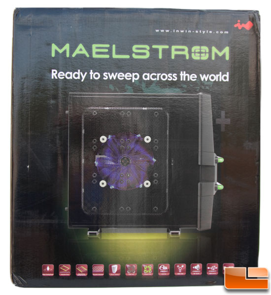 Maelstrom Case – Side of Box