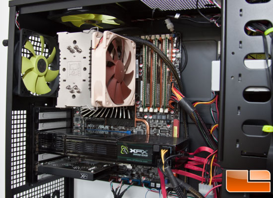 Maelstrom Case – Left Side After Build Closeup