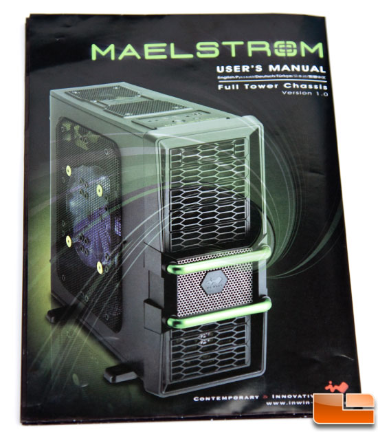 Maelstrom Case – Instruction Manual