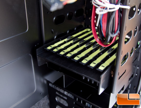 Maelstrom Case – HDD Rails Packaged