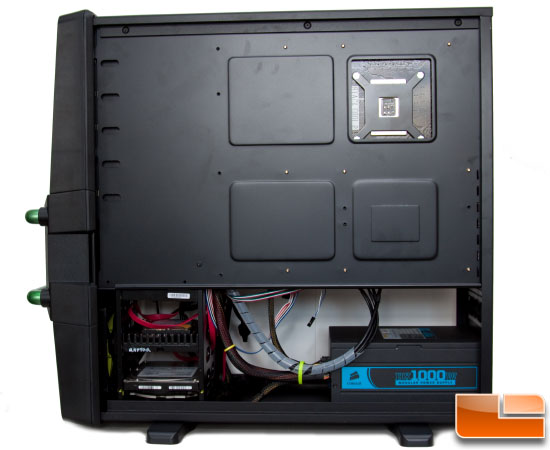Maelstrom Case – Right Side Built Door Open