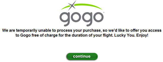 Gogo Inflight Internet WiFi Broadband Speed Testing