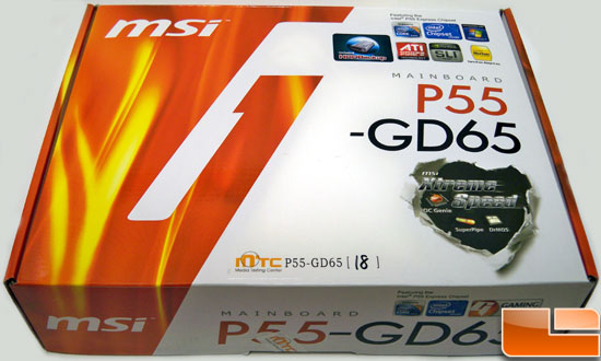 MSI P55-GD65 Review