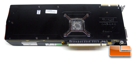 ASUS Radeon HD 5870 Video Card Back
