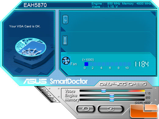 ASUS EAH5870 Smart Doctor Utility