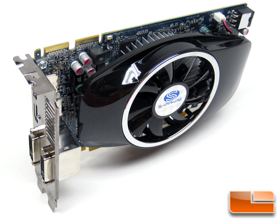 Sapphire Radeon HD 5750 Video Card Front