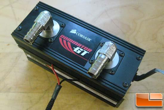 Corsair Cooling Ice T30 TEC Memory Cooler Review