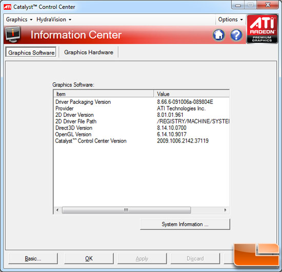 ATI Radeon HD 5850 and 5870 CATALYST 8.66.6 Drivers