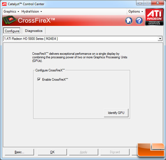 ATI Radeon HD 5850 and 5870 running mixrd GPU CrossFire