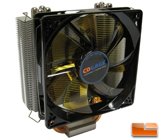 Cogage TRUE Spirit with fan mounted