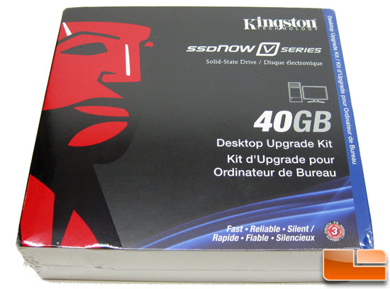 Kingston SSDNow V Series 40GB Boot Drive Retail Box