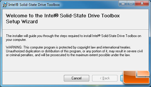 Intel SSD Toolbox and Optimizer
