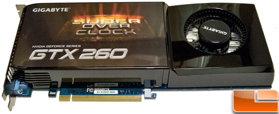 Gigabyte GTX 260 Core 216 Super Overclock Video Card Review