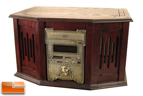 nMediaPC HTPC 8000 Wooden HTPC Case