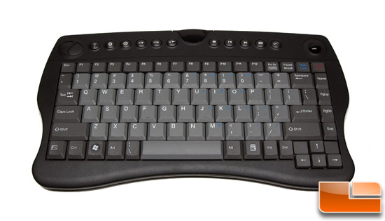 VidaBox ACC-KBLTB HTPC Wireless Keyboard Front
