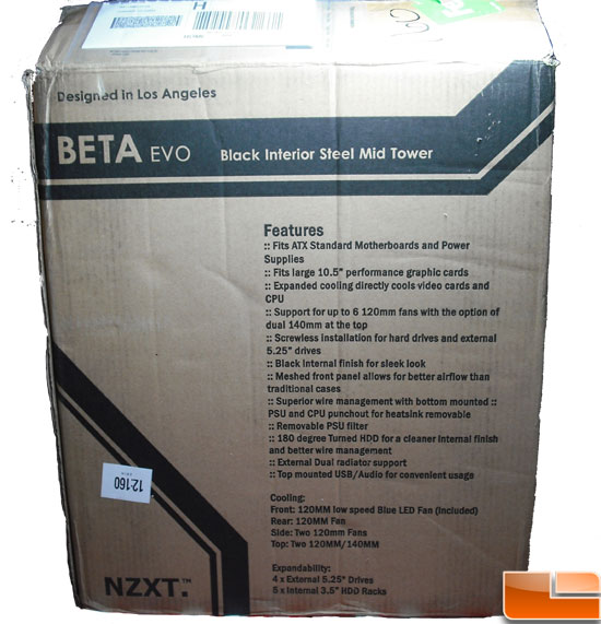 NZXT Beta Evo Mid Tower Case