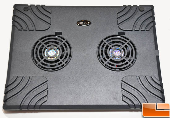 Laptop cooler top