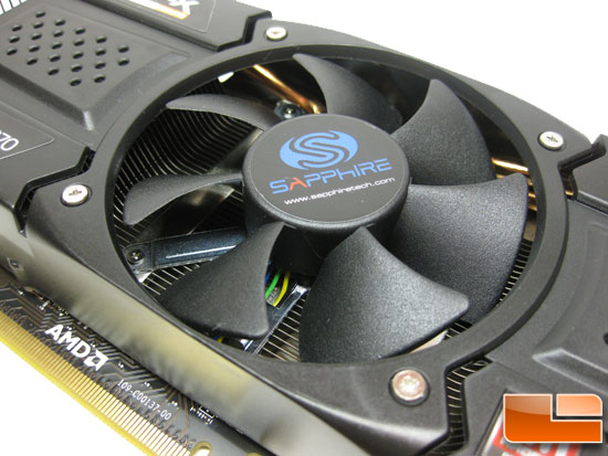Sapphire Radeon HD 5870 Vapor-X Video Card 92mm Fan