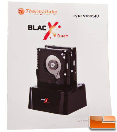 Thermaltake Blacx Duet Dock - Manual