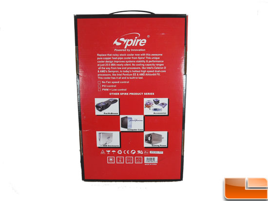 Spire Thermax Pro CPU Cooler Retail Box