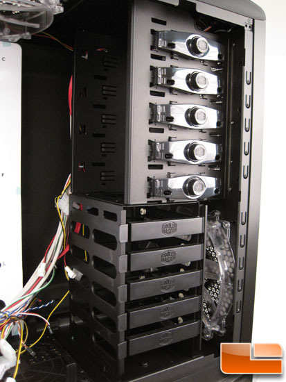 Cooler Master Sniper Black Edition 5.25 bays