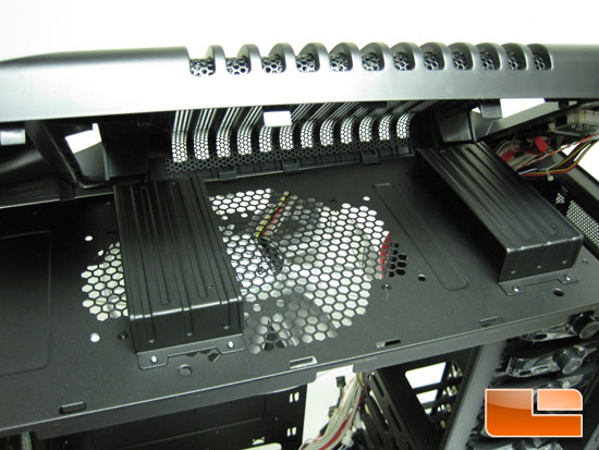 Under the Cooler Master Sniper Black Edition Top Panel