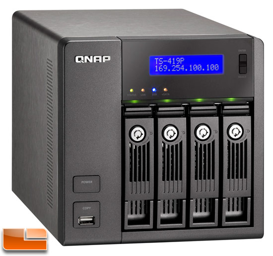QNAP TS-419P Turbo NAS 4-Bay Network Storage Review