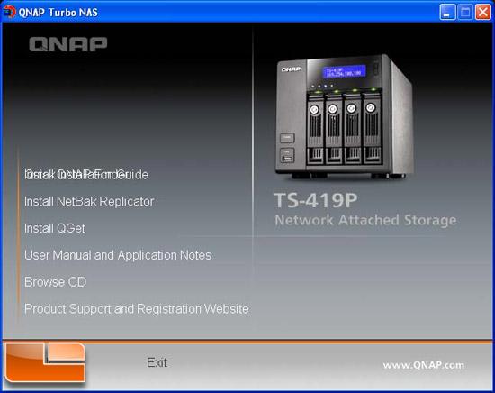 QNAP TS-419P Turbo NAS 4-Bay Network Storage Review - Page 4