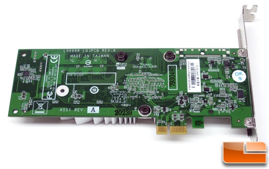 Leadtek PxVC1100 MPEG-2/H.264 Transcoding Card Back