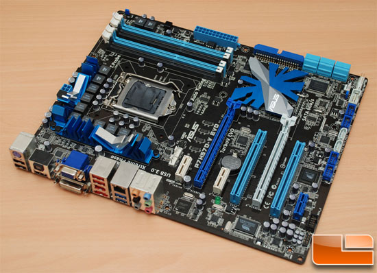 ASUS P7H57D-V EVO Motherboard Preview – H57 Chipset