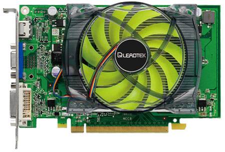 Leadtek Winfast GeForce GT 240 Reference Card