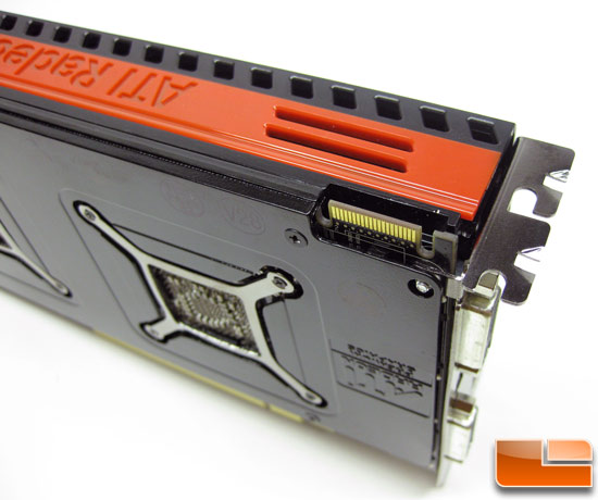 ATI Radeon HD 5970 Video Card Front
