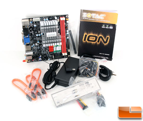 The Zotac IONITX-A-U Atom 330 Motherboard Bundle