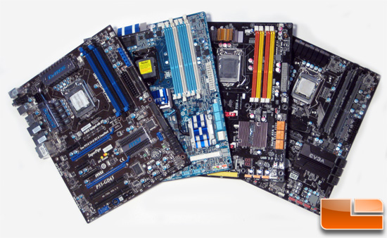 ECS / eVGA / Gigabyte / MSI P55 Mobo Roundup