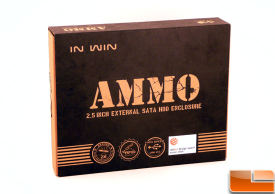In Win Ammo HDD RFID Enclosure