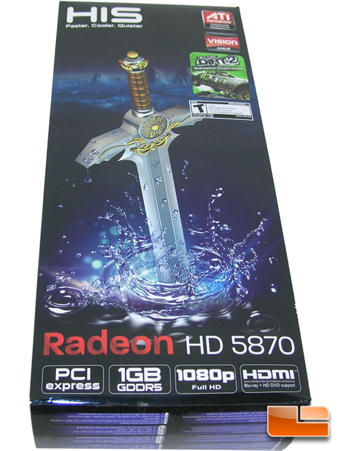 HIS Radeon HD 5870 Review