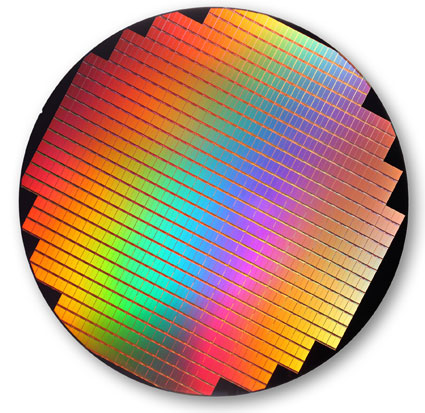 300mm 25nm NAND wafer