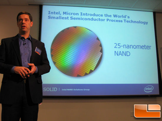 IM Flash Technologies Announces 25-nanometer NAND