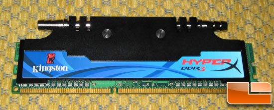 Kingston HyperX Memory Module Water Cooling Prototype